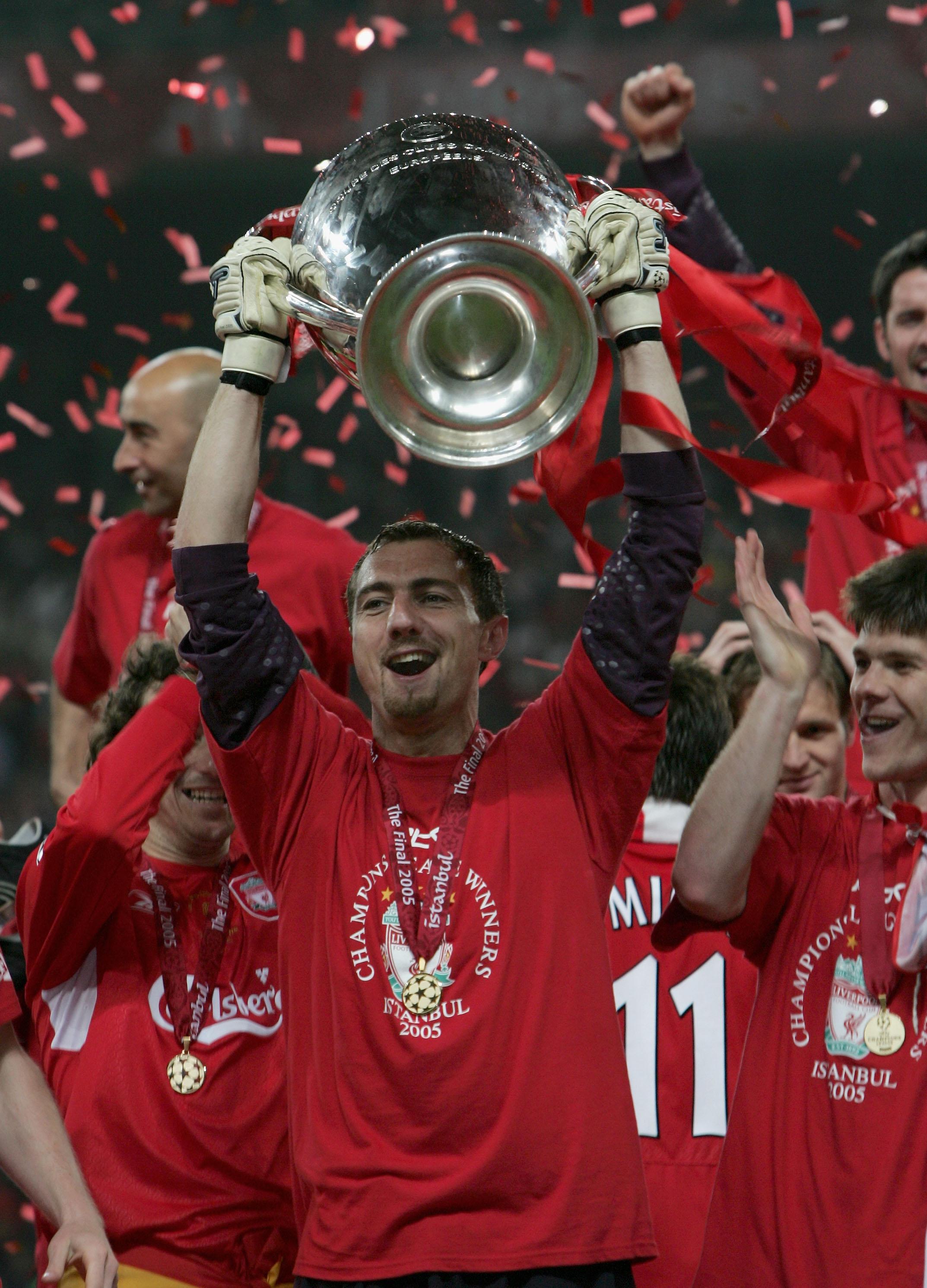 5e28f9385 Finał Ligi Mistrzów. Porównano drużyny Liverpoolu z 2005 i 2018 roku.  Anglicy tęsknią za Dudkiem - WP SportoweFakty