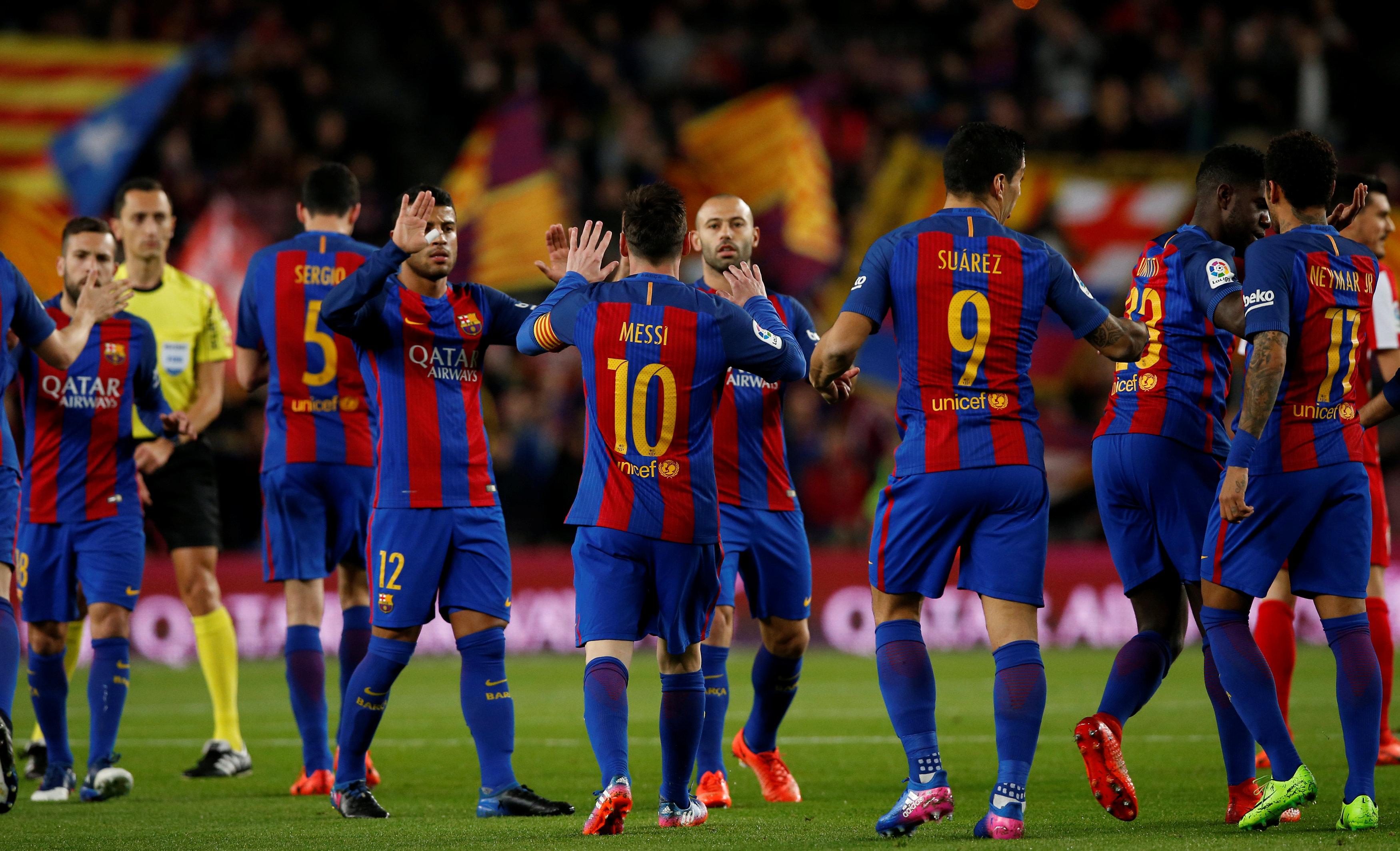 c38eb7029 Barcelona chce referendum niepodległościowego w Katalonii - WP SportoweFakty