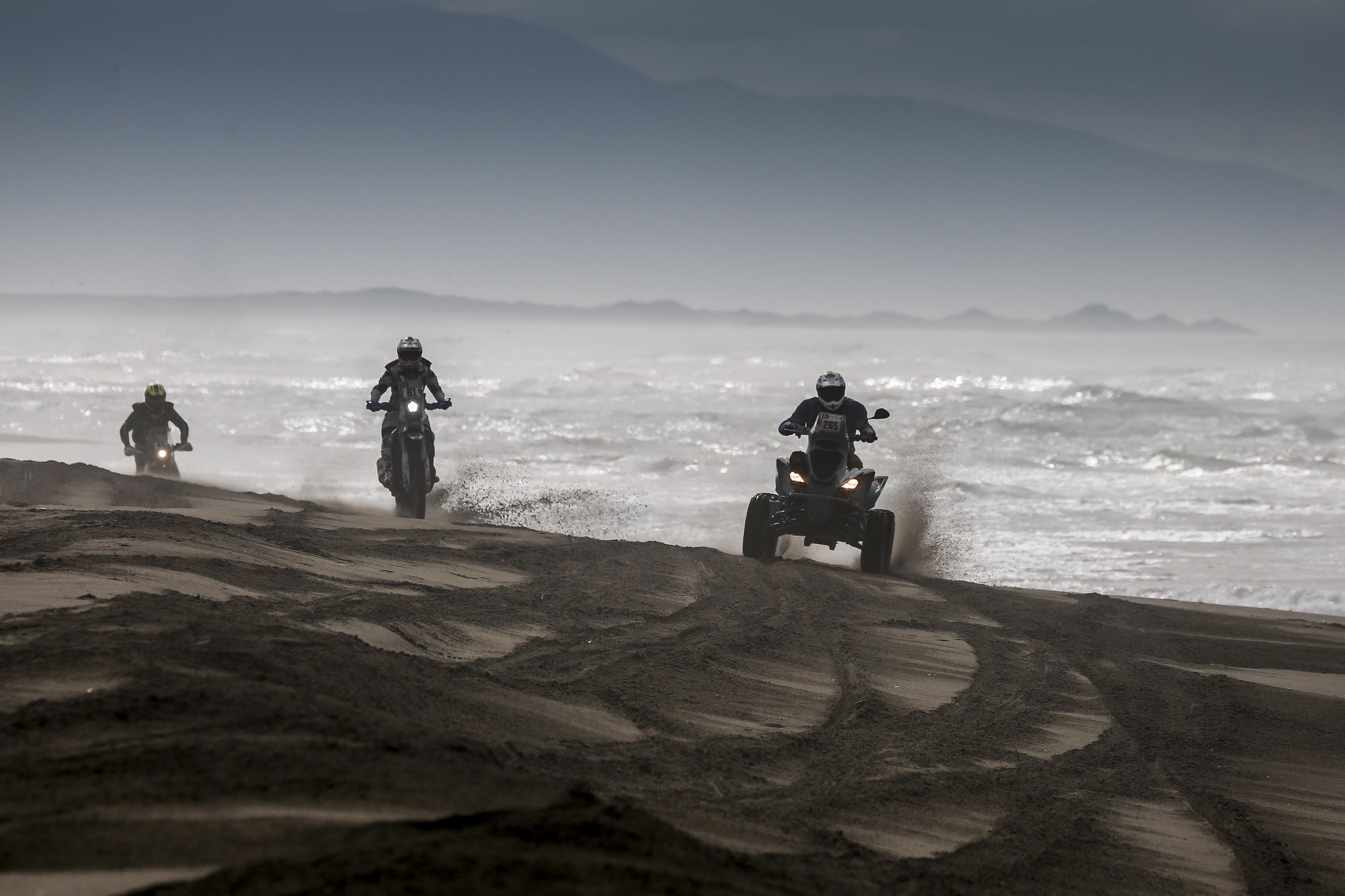 rajd dakar quady i motocykle nie pojad� wp sportowefakty