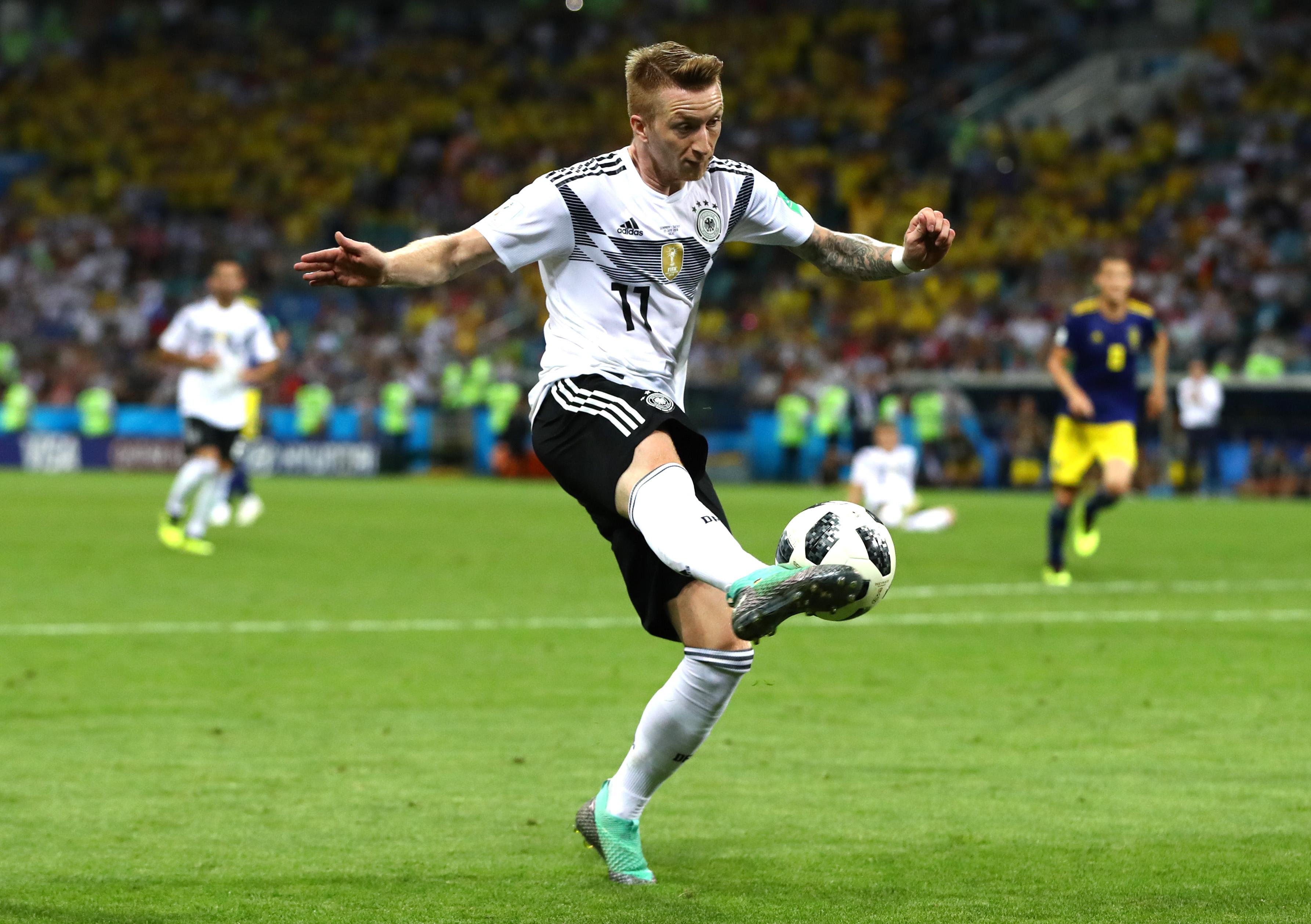 5d52961b8 Marco Reus dementuje informacje o braku dyscypliny w kadrze Niemiec - WP  SportoweFakty