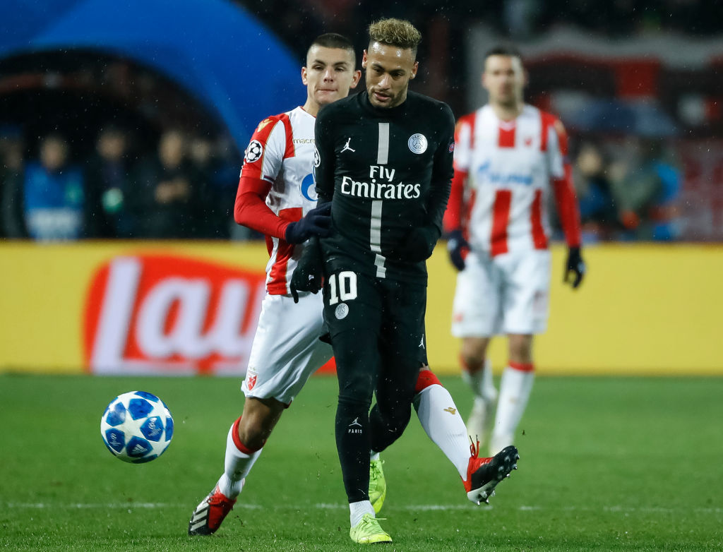 Liga Mistrzów. Atalanta - PSG. Piękny gest Neymara. Tego wielu się po nim nie spodziewało - Sport WP SportoweFakty