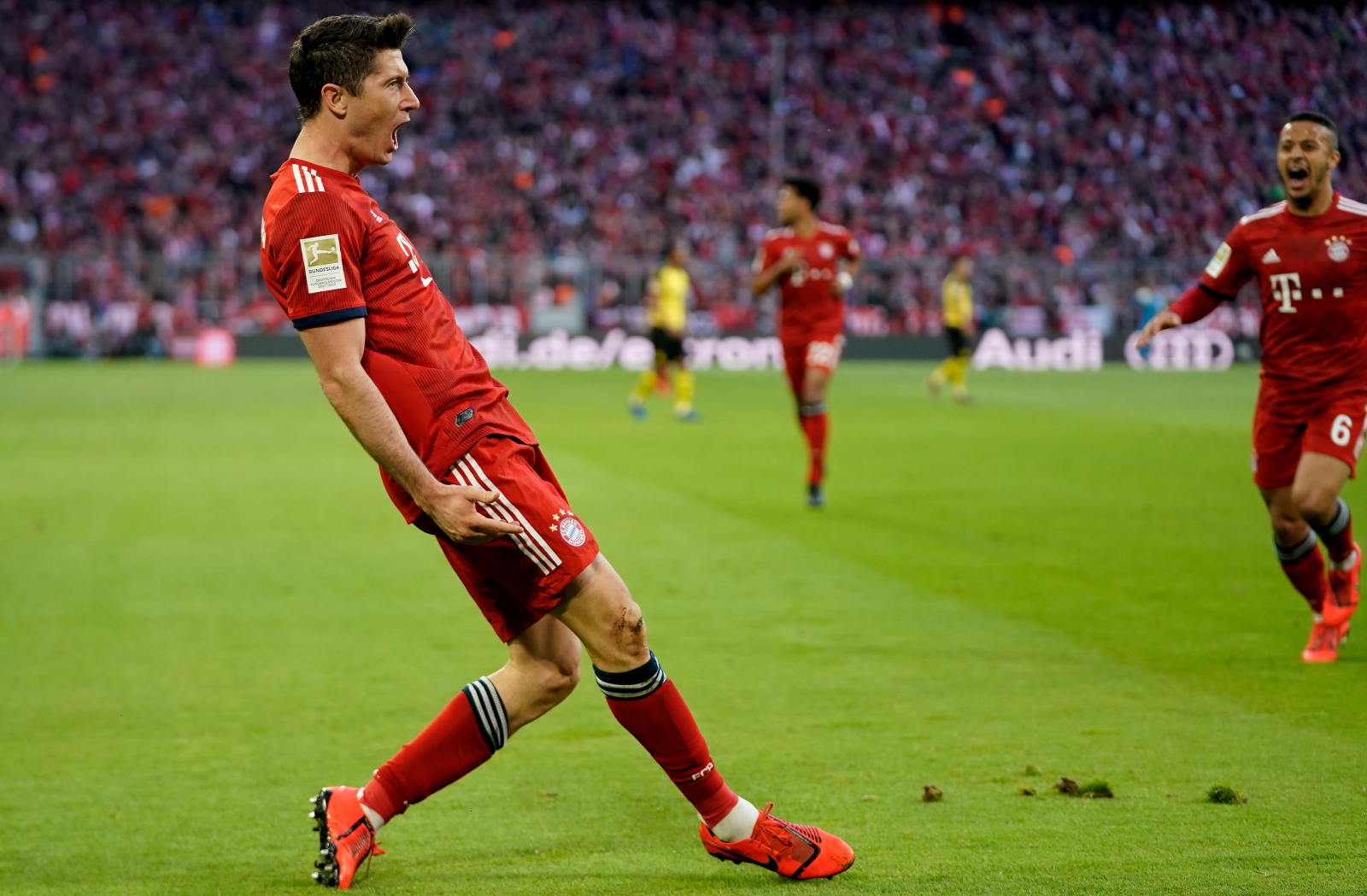 ee42bdb6f Bayern Monachium - Borussia Dortmund. Robert Lewandowski: Jestem z siebie  dumny - WP SportoweFakty
