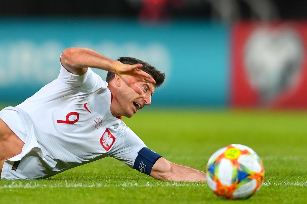 bd7ef3b6c Eliminacje Euro 2020. Macedonia Północna - Polska. Robert Lewandowski  odcięty od podań - nie po raz pierwszy - WP SportoweFakty