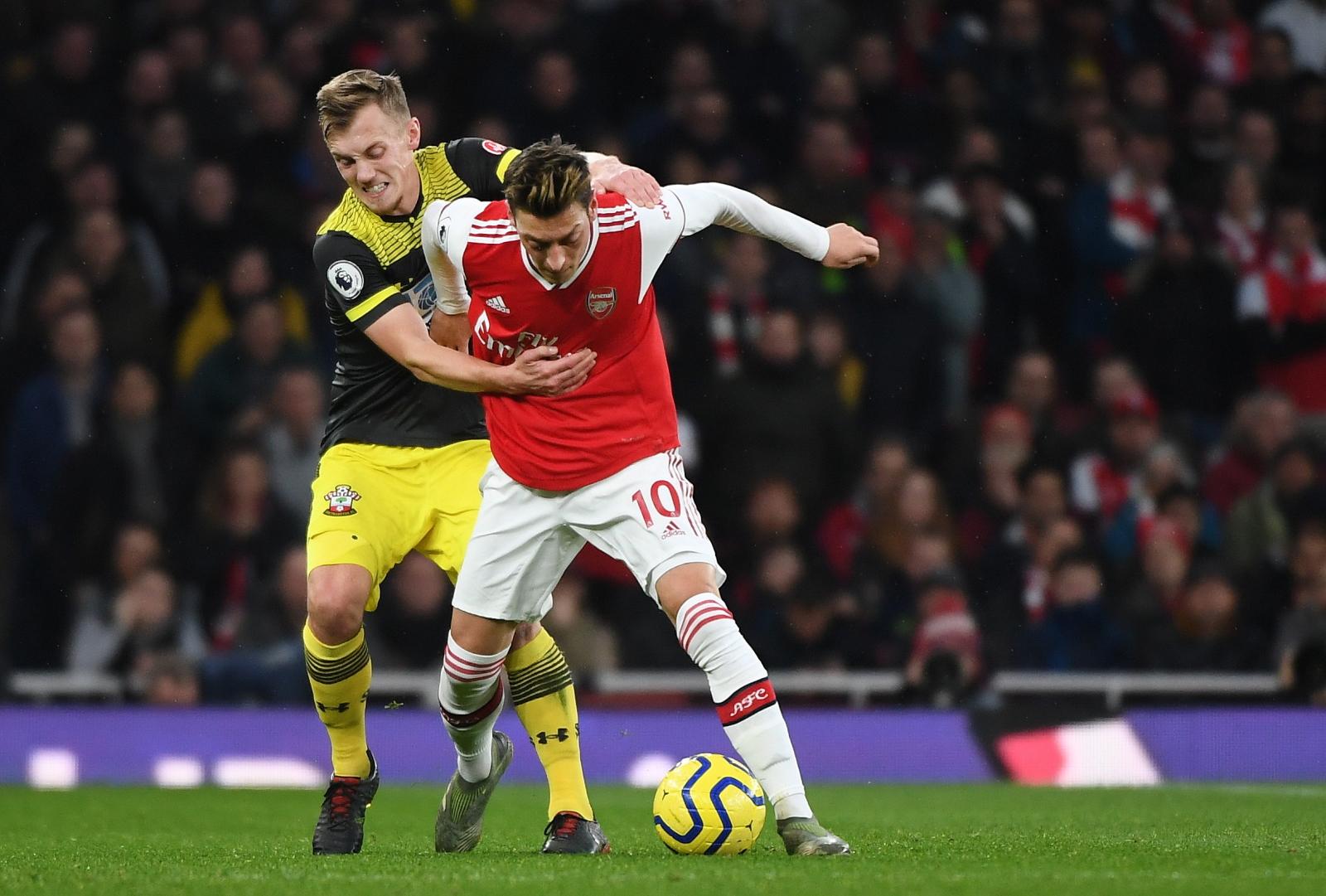 Premier League. Frustracja w Arsenalu po remisie z Southampton. Władze klubu w szatni Kanonierów - Sport WP SportoweFakty