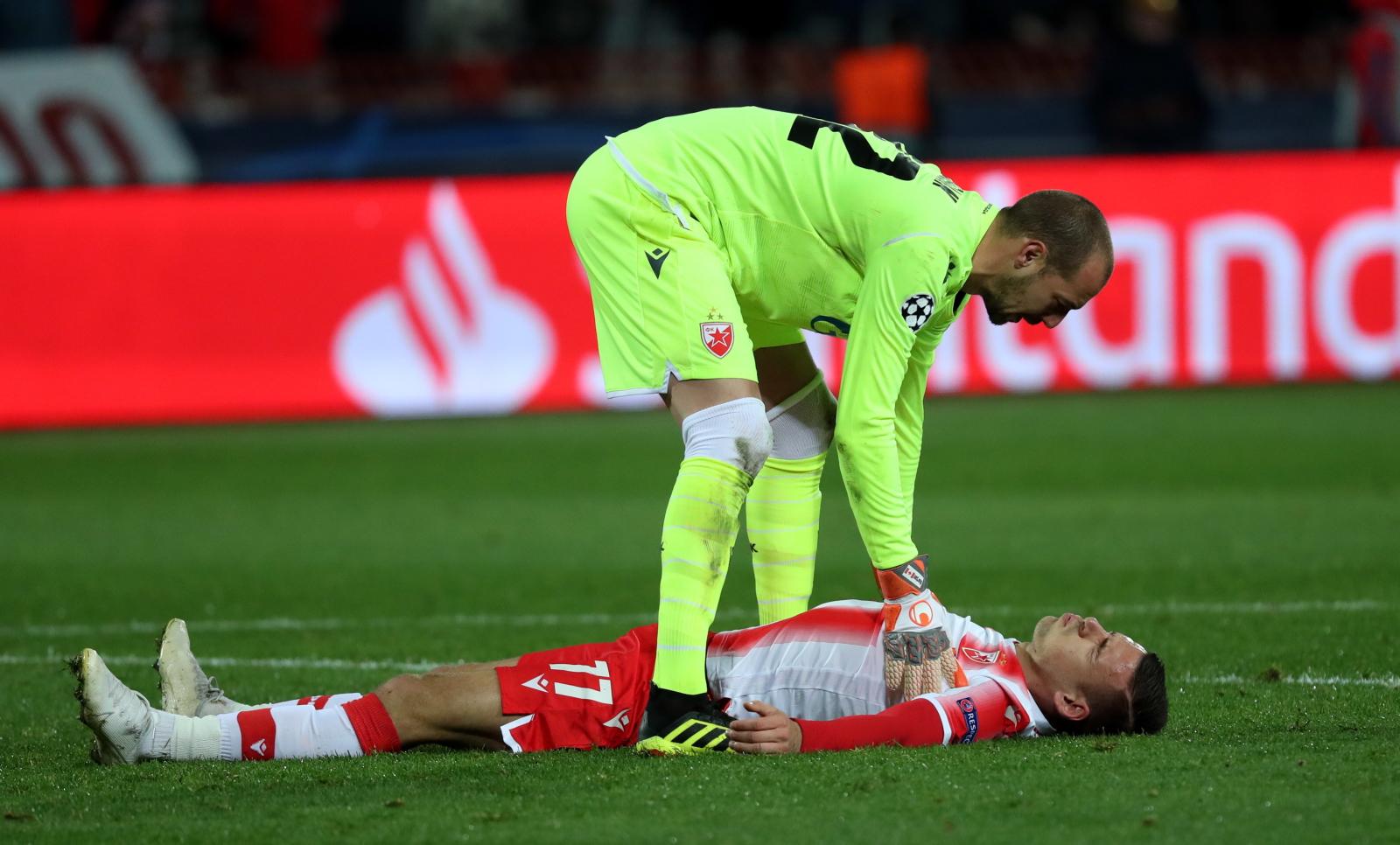 Liga Mistrzów. Crvena Zvezda - Bayern. Lewandowski wbił mu cztery gole. Milan Borjan przeprasza kibiców - Sport WP SportoweFakty