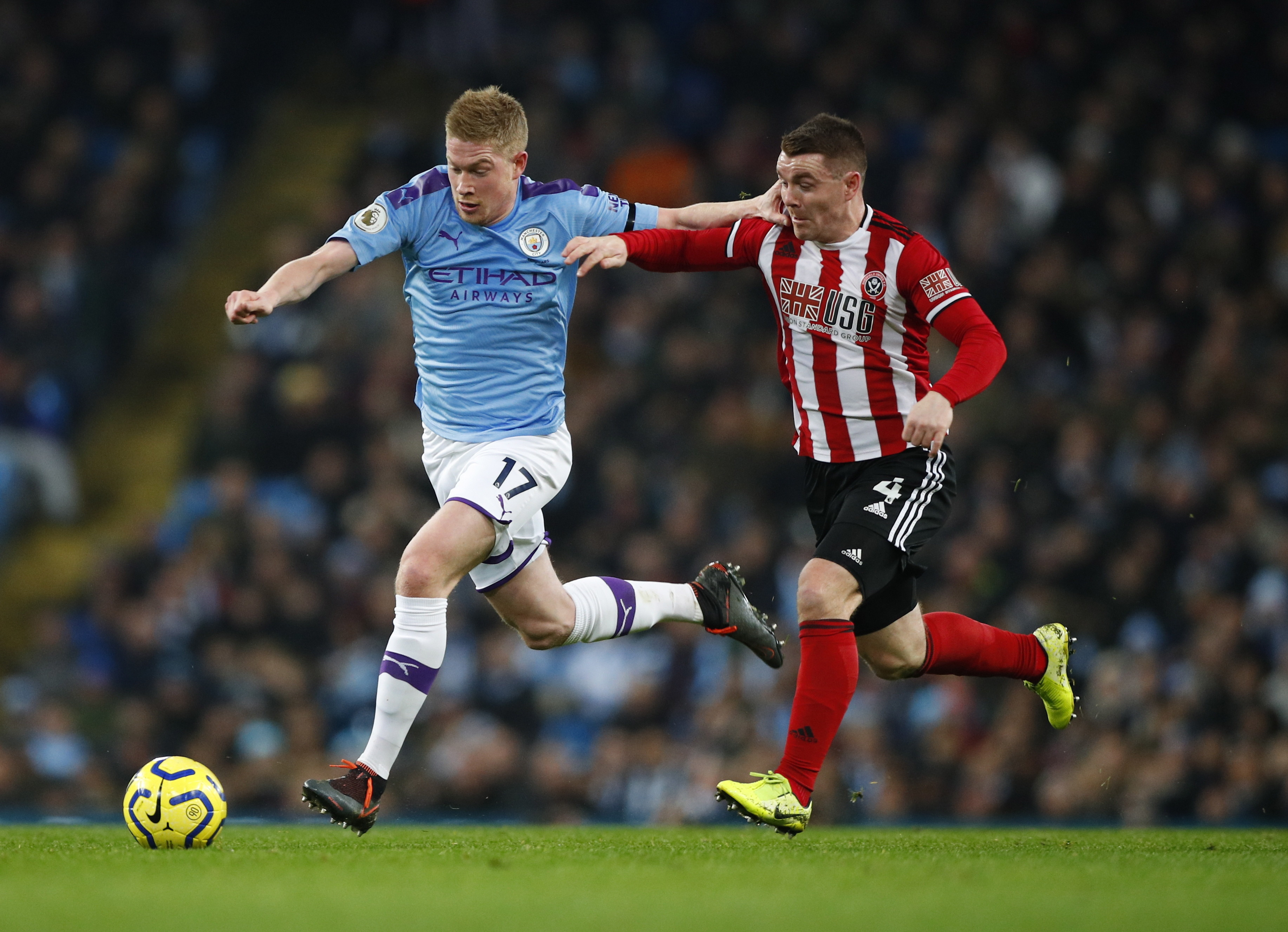 Premier League. Manchester City - Sheffield United: wygrana mistrzów Anglii. Kolejny dyskusyjny VAR - Sport WP SportoweFakty