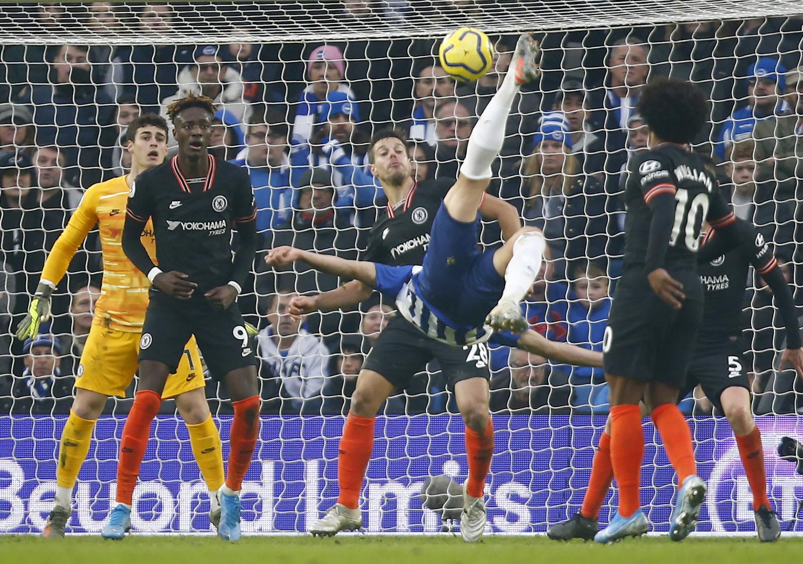 Premier League. Brighton - Chelsea. Gospodarze uratowali punkt. Fenomenalny gol Jahanbakhsha! - Sport WP SportoweFakty