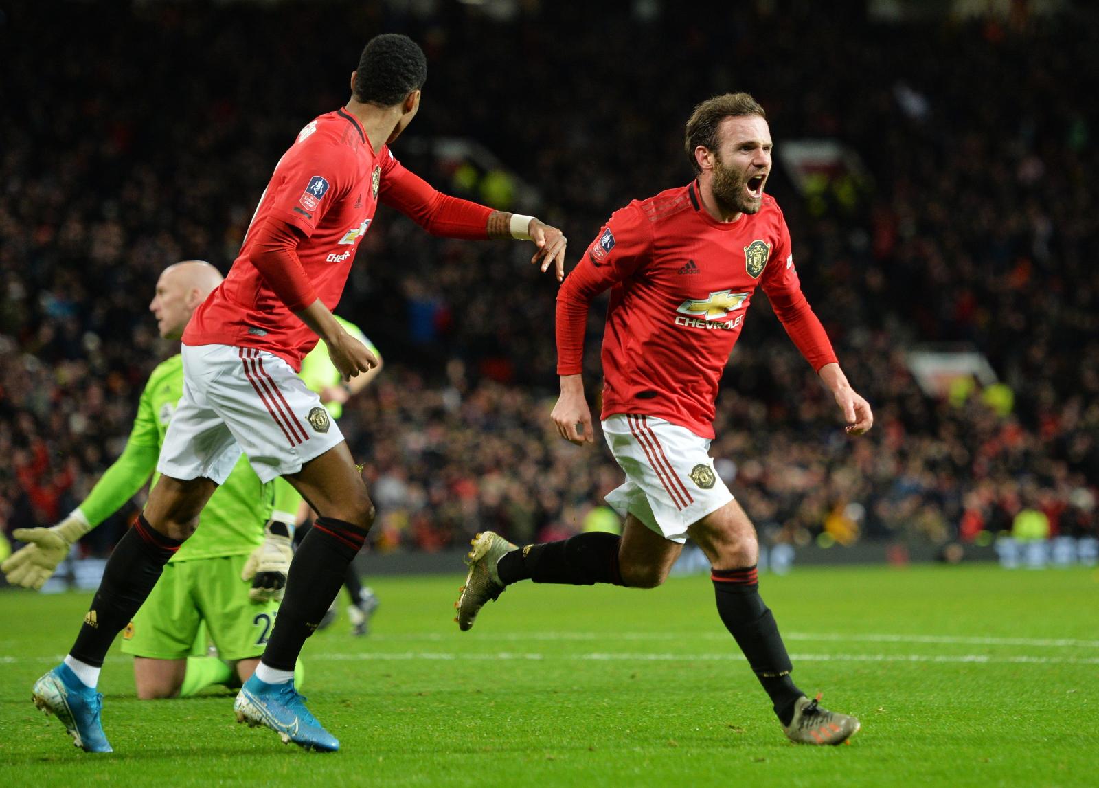 """Puchar Anglii: Manchester Utd - Wolverhampton: spokój Juana Maty i awans """"Czerwonych Diabłów"""" - Sport WP SportoweFakty"""