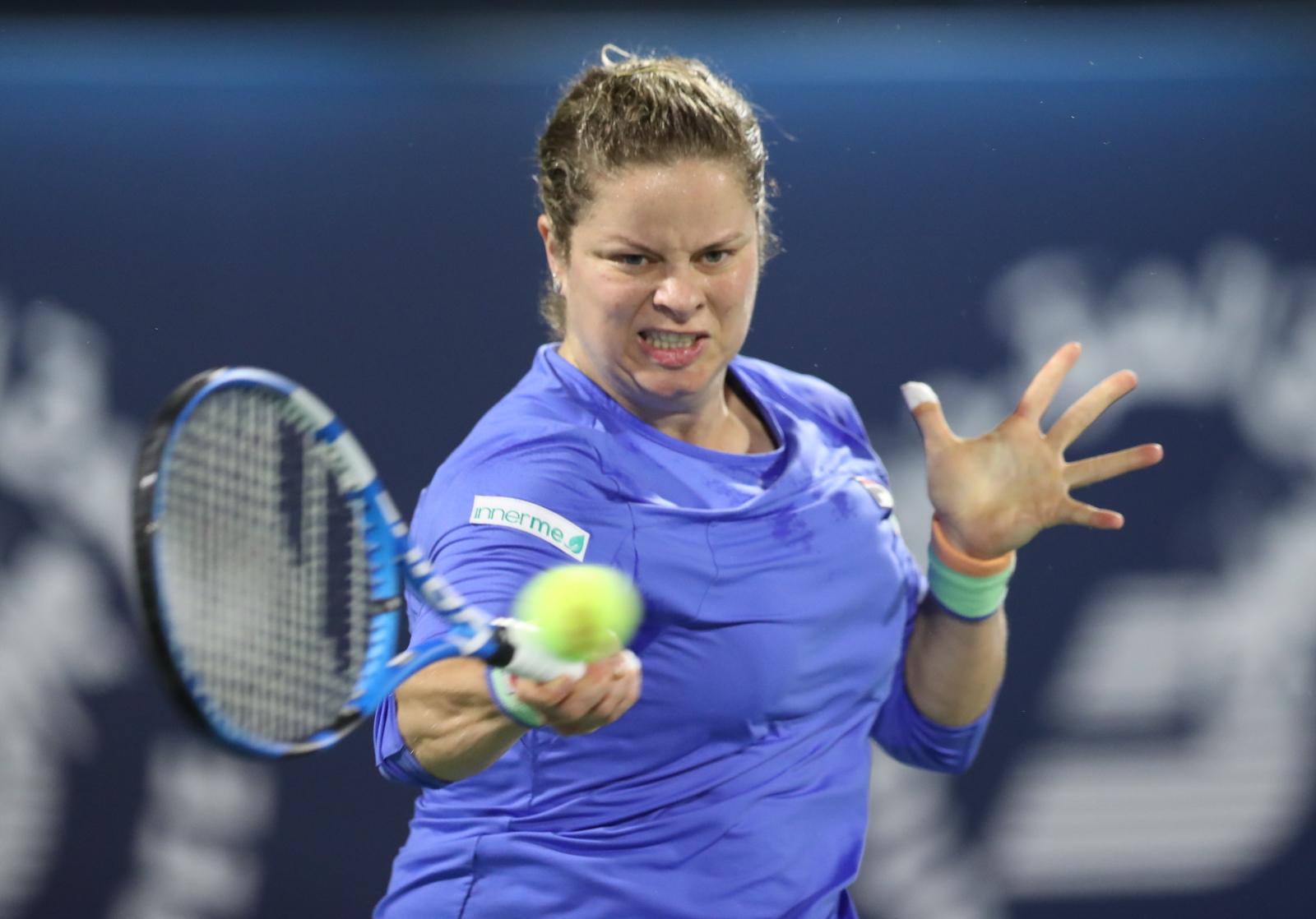 Tenis. WTA Dubaj: Kim Clijsters wróciła do gry. Belgijka uległa Garbine Muguruzie - Sport WP SportoweFakty