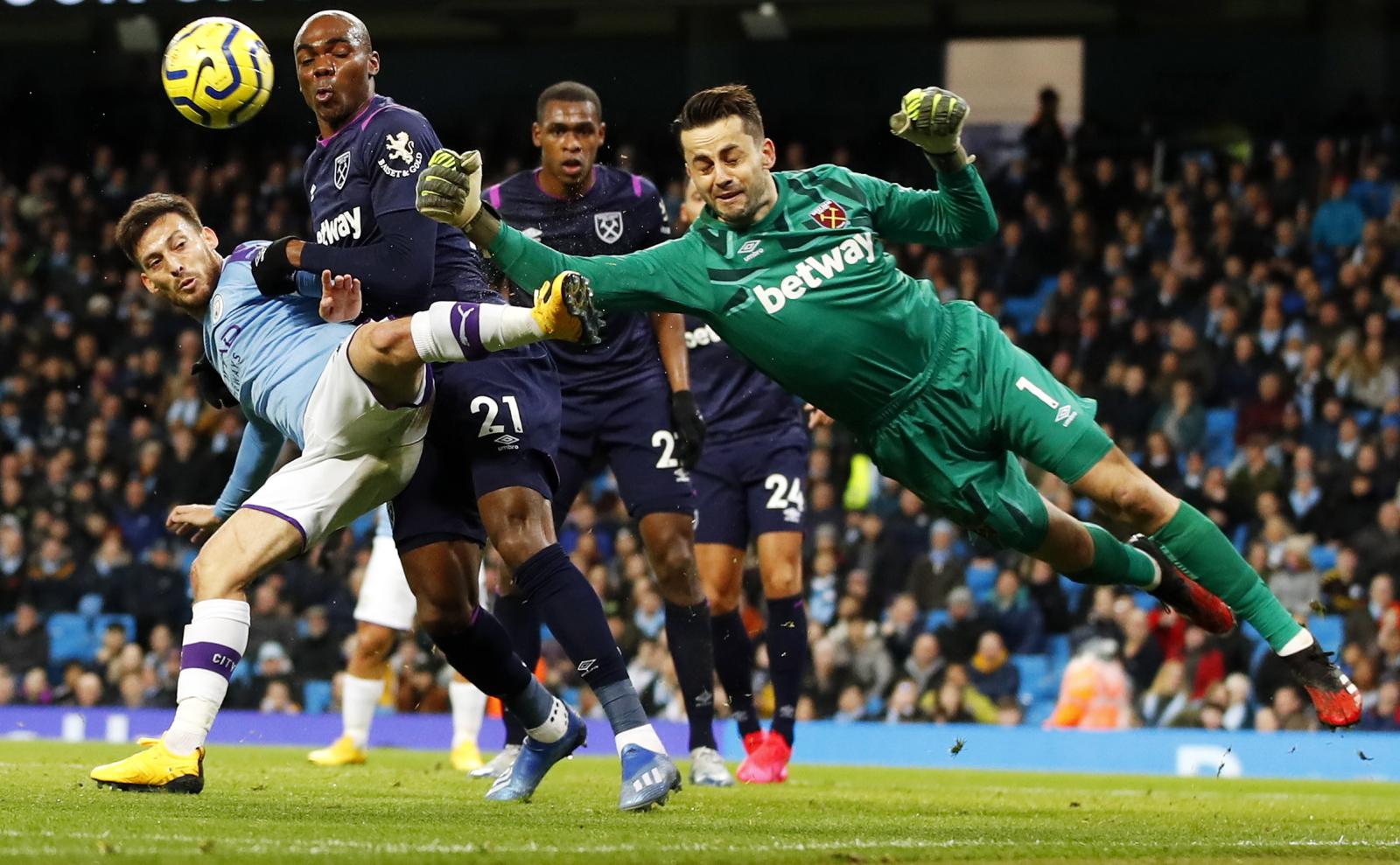 Premier League. Manchester City - West Ham. Łukasz Fabiański chwalony przez kibiców - Sport WP SportoweFakty