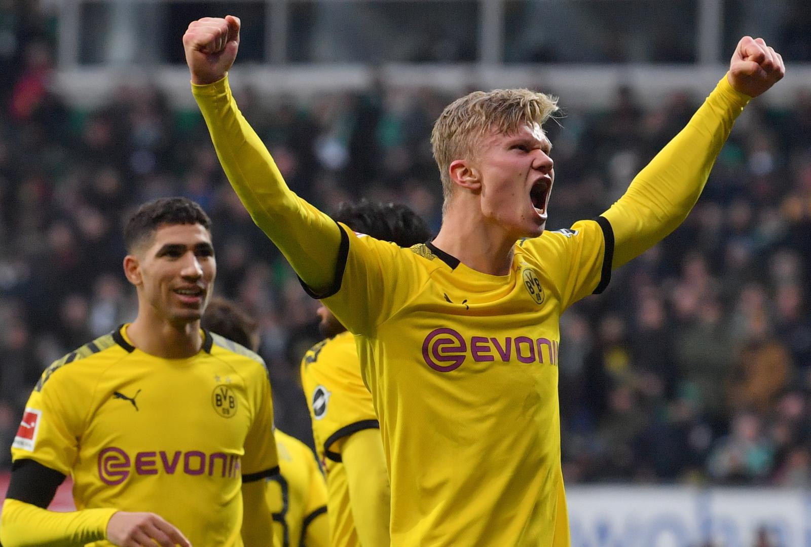 Bundesliga. Werder - Borussia: Haaland nadal strzela, BVB z kolejnym zwycięstwem - Sport WP SportoweFakty