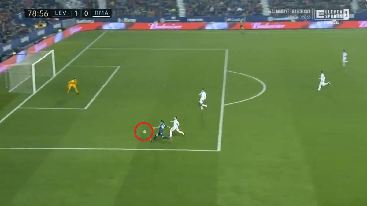 La Liga. Levante - Real Madryt. Ależ strzał Jose Moralesa! (wideo) - Sport WP SportoweFakty