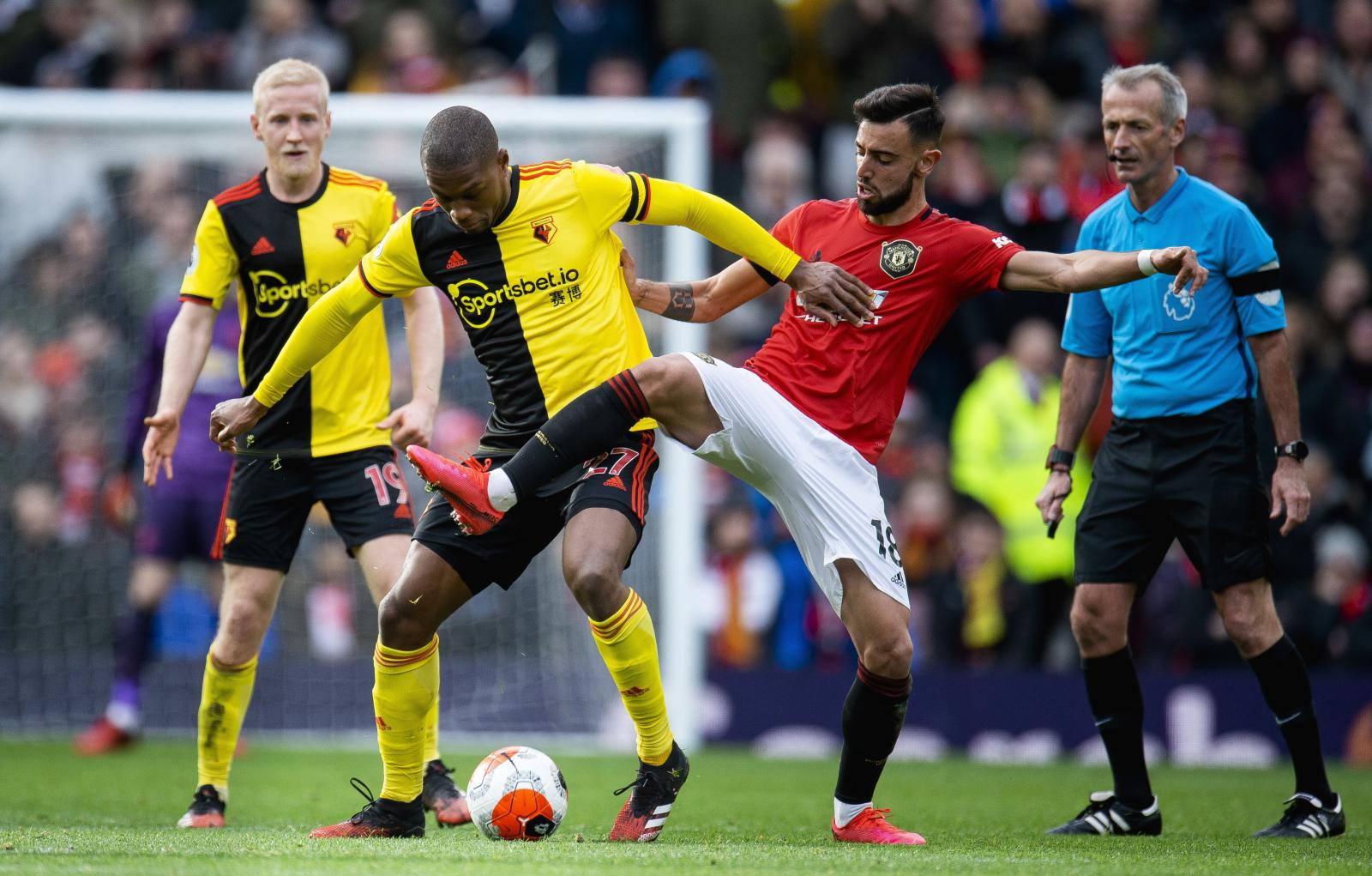 """Premier League. Manchester United - Watford FC. """"Czerwone Diabły"""" wygrywają i robią postęp - Sport WP SportoweFakty"""