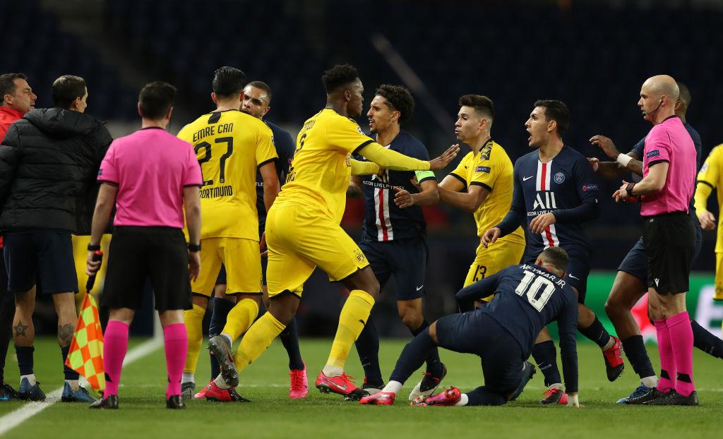 UEFA ostrzegła Paris Saint-Germain. Chodzi o zachowanie piłkarzy - Sport WP SportoweFakty