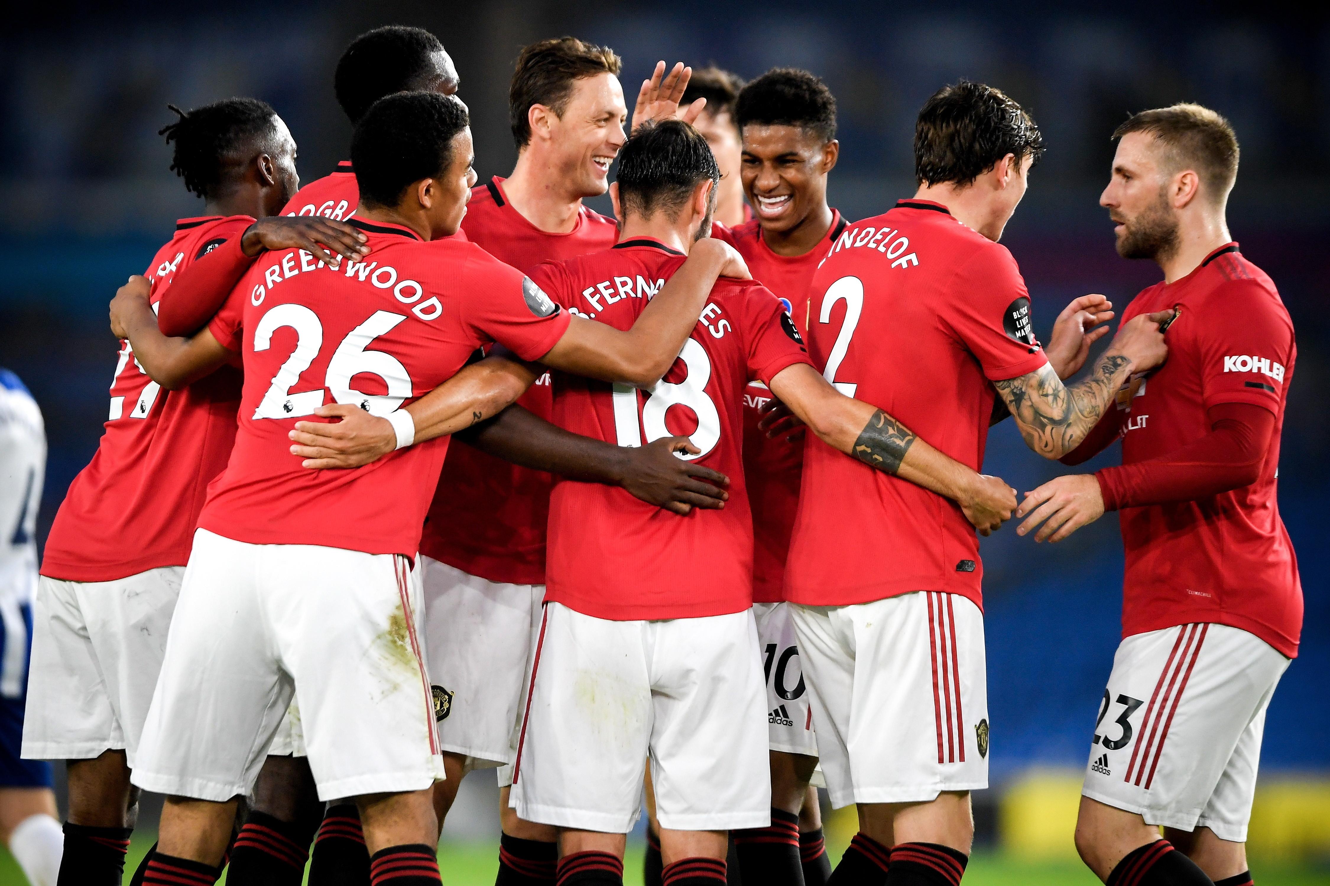 Premier League. Brighton - Manchester United. Pewna gra i spokojna wygrana Czerwonych Diabłów - Sport WP SportoweFakty