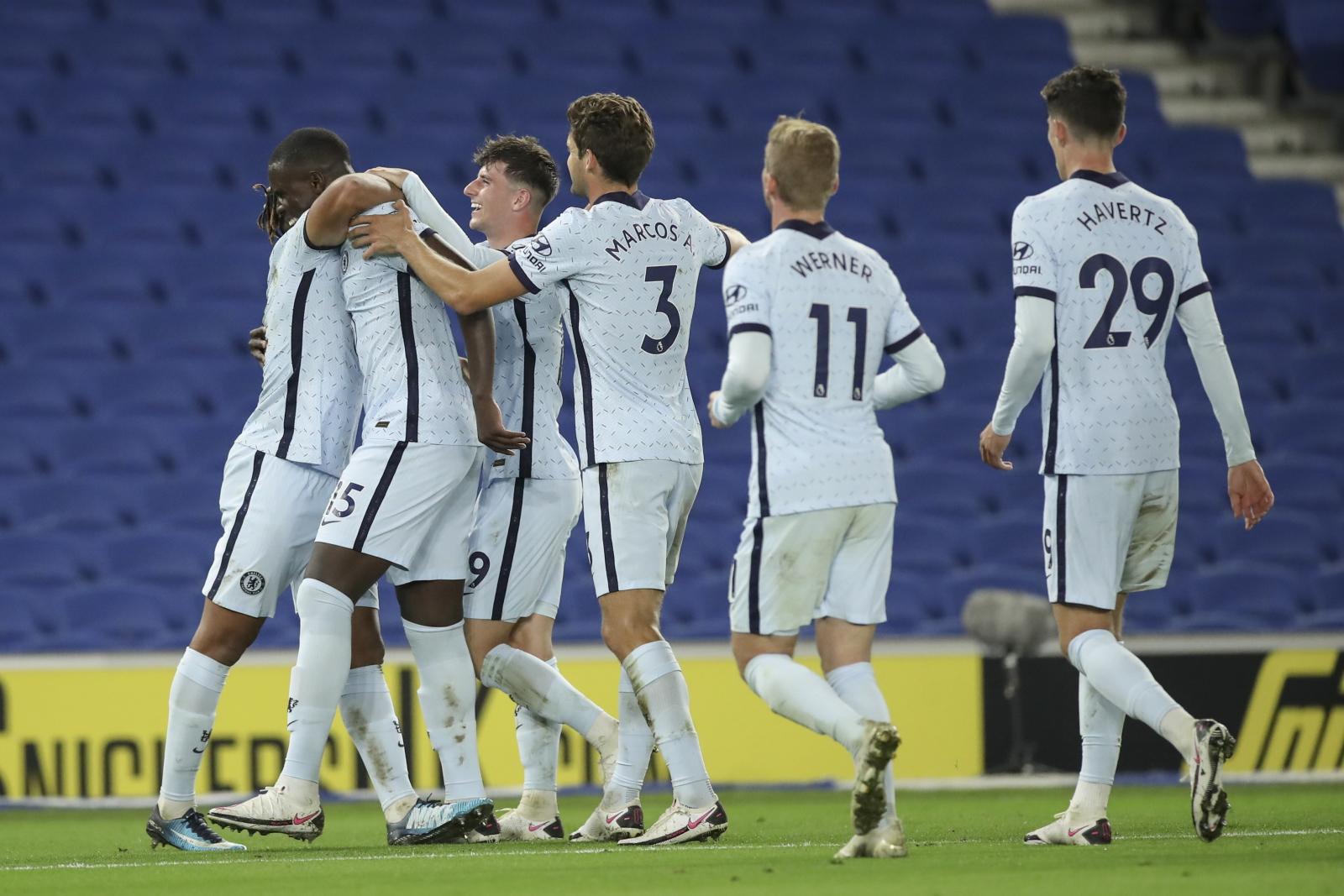 Premier League: Chelsea FC wygrała z Brighton and Hove Albion. Timo Werner i Kai Havertz postawili pierwsze kroki - Sport WP SportoweFakty
